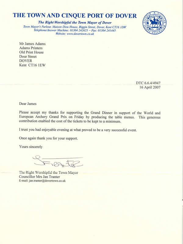Customer testimonials adams printers view letter expocarfo Choice Image